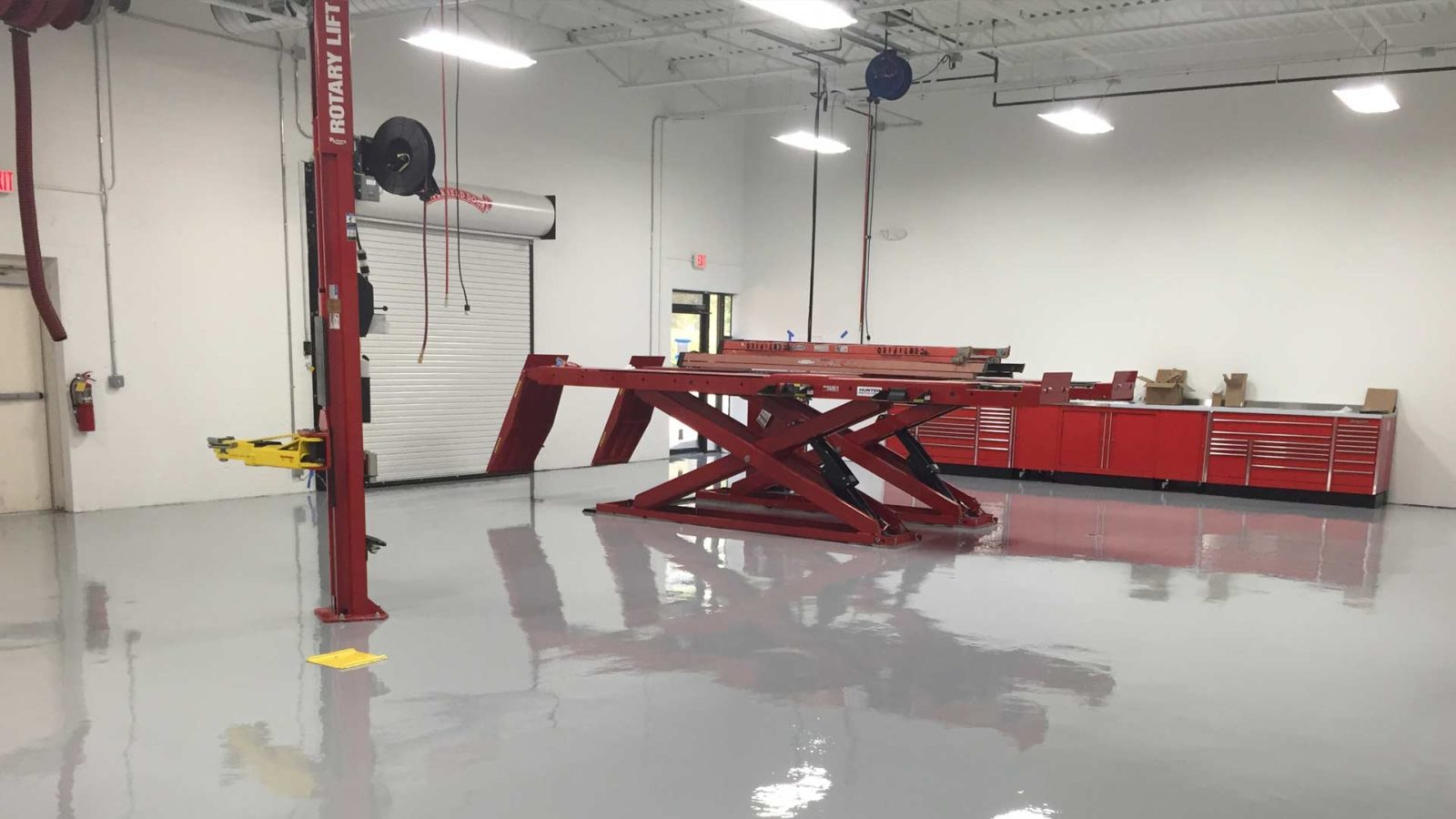Commercial Epoxy Application